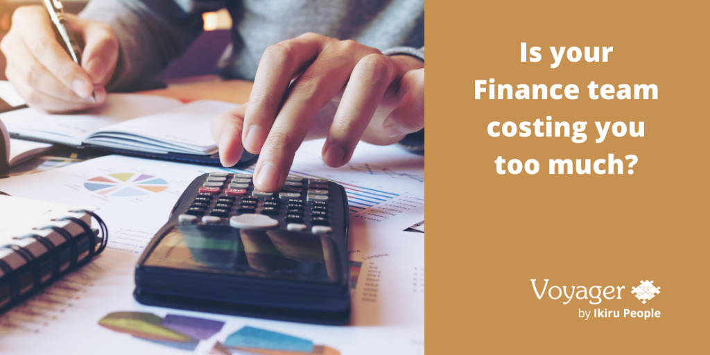 Is your Finance team costing you too much?