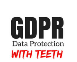GDPR – Data protection with teeth