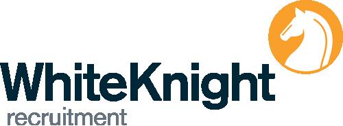 White Knight recruitment logo