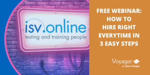 Free Webinar: How to hire right every time in 3 easy steps