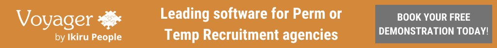 Book a free demo to learn why Voyager recruitment CRM is perfect for both perm and temp recruitment agencies.