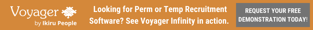 See our Voyager recruitment software in action. Book a demo.