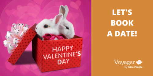 Happy Valentine's Day – let's book a date!