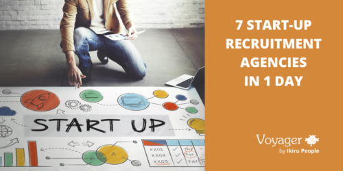 7 start-up recruitment agencies in 1 day: what they have in common, and the sectors they're in