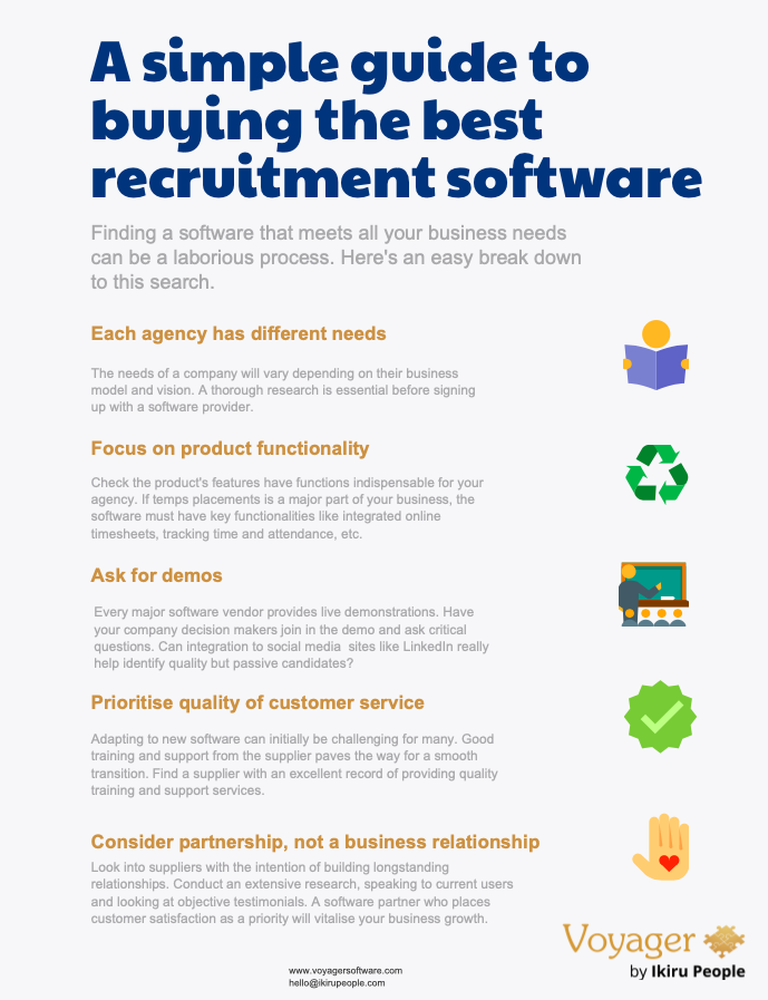 a simple guide to best recruitment software for agencies