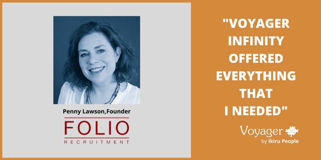 Folio Recruitment - Voyager Infinity testimonial