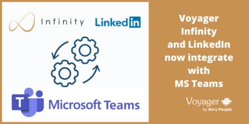 Voyager Infinity and LinkedIn now integrate with Microsoft Teams