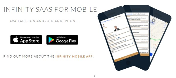 Voyager Infinity SaaS for mobile